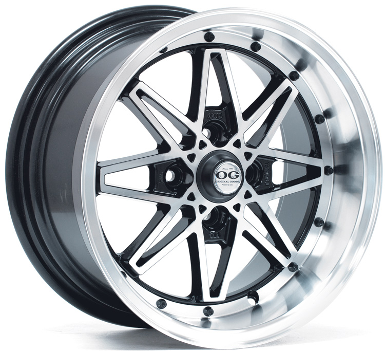 Axis wheels (rims) - oldskool - machine center black accents