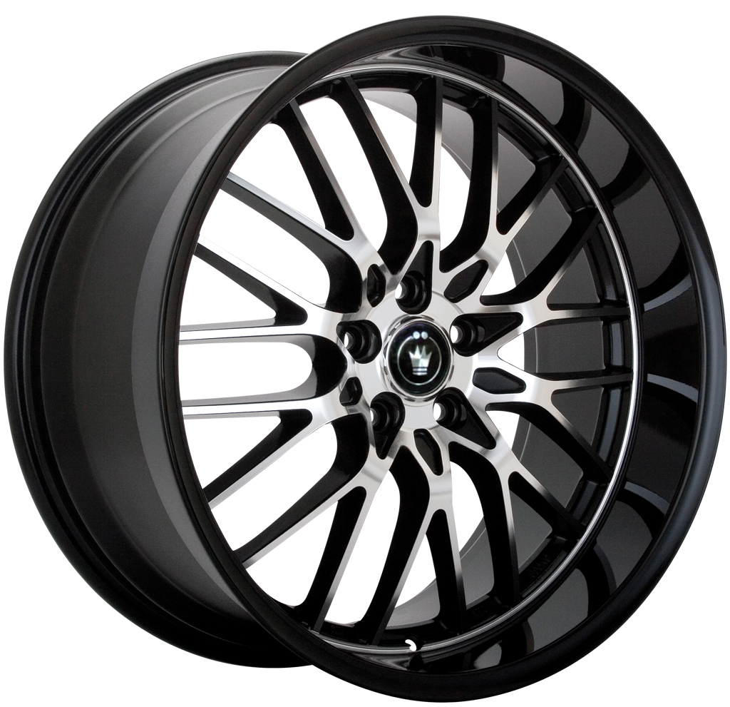 Konig Lace (Gloss Black w/ Machined Spokes
