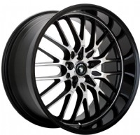 Konig Lace (Gloss Black w/ Machined Spokes)