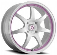Konig Forward (White w/ Pink Stripe)