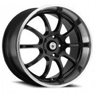 Konig Lightning (Gloss Black w/ Machined Lip)